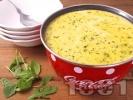 Рецепта Свежа супа от сьомга, картофи, сметана и копър